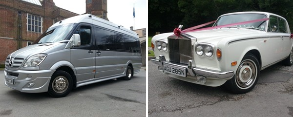 OUR LUXURY 16 SEATER MERCEDES & ROLLS ROYCE