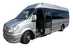 Our 16 Seater Mercedes Vehicle